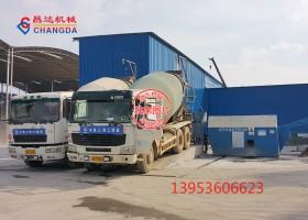 中铁上海工程局昌赣高铁砂石分离机工作现场