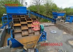 日产3000吨石粉洗砂机生产线