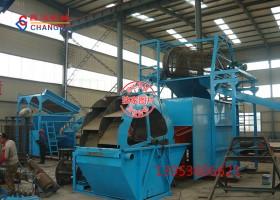 制砂机生产线加工现场