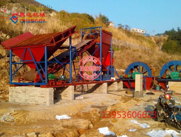 制砂生产线安装现场