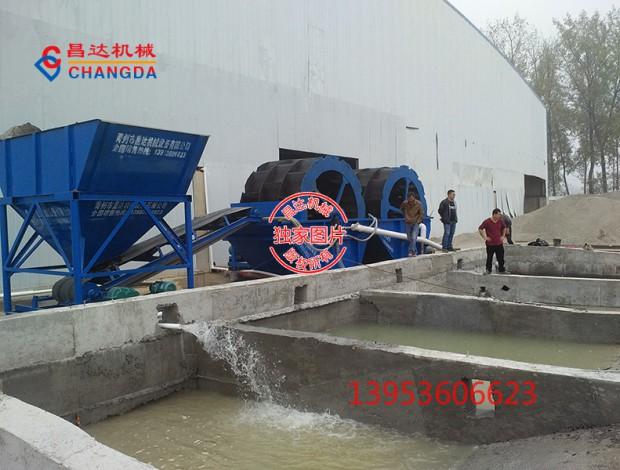 日产1000吨石粉制砂机生产线